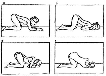 Коленно-локтевая гимнастика